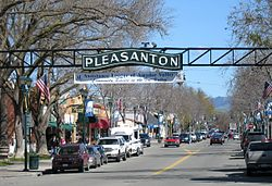 Main Street in Downtown Pleasanton CA - taken by your #1 Locksmith in Pleasanton CA