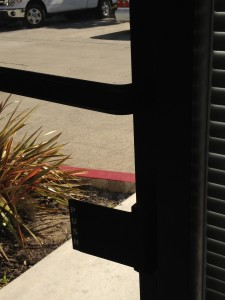 commercial access control push plate on egress side Pleasanton CA